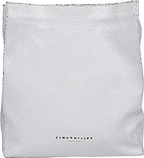Simon Miller Women's S810702810047 White Leather Clutch
