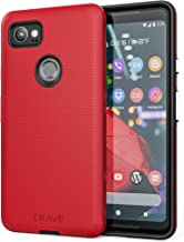 Google Pixel 2 XL Case, Crave Dual Guard Protection Series Case for Google Pixel 2 XL - Red