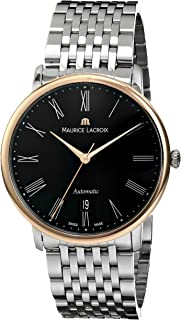 Maurice Lacroix Men's LC6067-PS102-310 Les Classiques Automatic Stainless Steel and Gold Watch