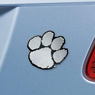 FANMATS NCAA Clemson University Tigers Chrome Team Emblem