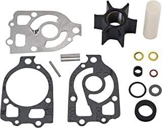 Quicksilver 89984Q5 Water Pump Repair Kit - Mercury and Mariner Outboards and MerCruiser I, R, MR and Alpha Stern Drives with Short Vane Impellers