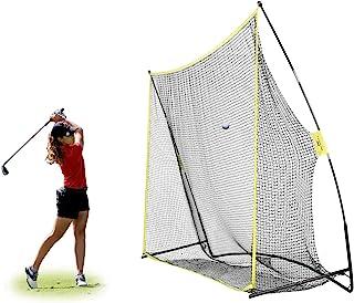 PodiuMax 10x7ft Golf Hitting Net | Driving Range for Backyard & Indoor | Also Suitable for Soccer, Baseball, Softball Prac...