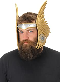 Winged Viking Valkyrie Costume Headband Gold