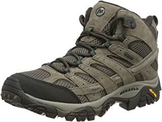 Merrell Men's Moab 2 Leather Mid GTX High Rise Hiking Shoes
