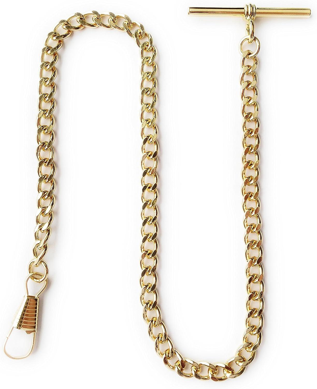 Desperado Gold Albert Vest Pocket Watch 3910-G with T Chain bar Purchase Superior