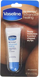 Vaseline Lip Therapy Advanced Formula 0.35 oz (Pack of 6)