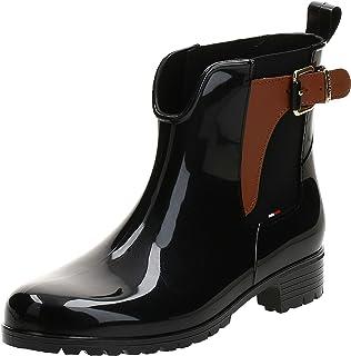 Tommy Hilfiger O1285Xley 2Z2 Women's Boots, Black (Black-Winter Cognac), 40 EU