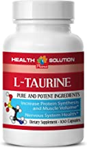Taurine Powder Organic - L-Taurine 500MG - Weight Loss for Women Pills (1 Bottle)