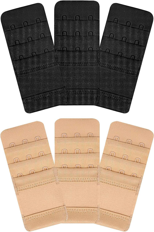 Wingslove Womens Super sale period limited 6pcs-Pack Elastic Stre Bra Time sale Accessories Extender