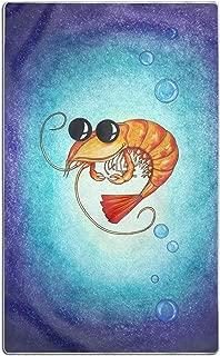 DZGlobal Microfiber Beach Bath Kitchen Pool Towels for Adults - Sunglasses Shrimp}