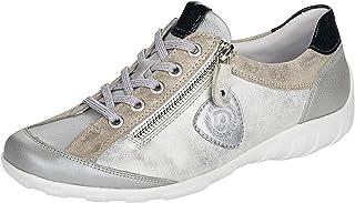 Remonte Baskets basses pour femme R3415 - Chaussures basses à lacets - Semelles lâches