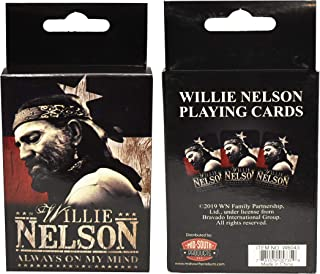 Midsouth Products Willie Nelson Playing Cards - Willie Nelson Always On My Mind