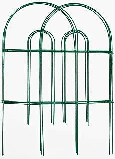 Origin Point Gard'n Border Round Folding Fence, Green, 24-Inch x 10-Feet-(42410)