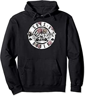 Guns N' Roses Floral Bullet Hoodie