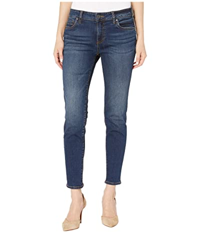 KUT from the Kloth Petite Diana Skinny Jeans in Caring Wash (Caring Wash) Women