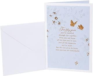 Hallmark 50th Anniversary Card (Golden Wedding Anniversary)