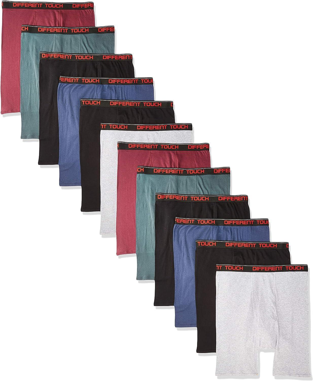 Men's Big & Tall USA Classic Design Boxer Briefs Underwear (Pack of 12)