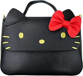 x Sanrio Hello Kitty Black Crossbody Bow Bag