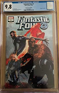 FANTASTIC FOUR #1 CGC 9.8 DELL'OTTO VARIANT COVER TRADE DRESS - 2018-1ST PRINT.