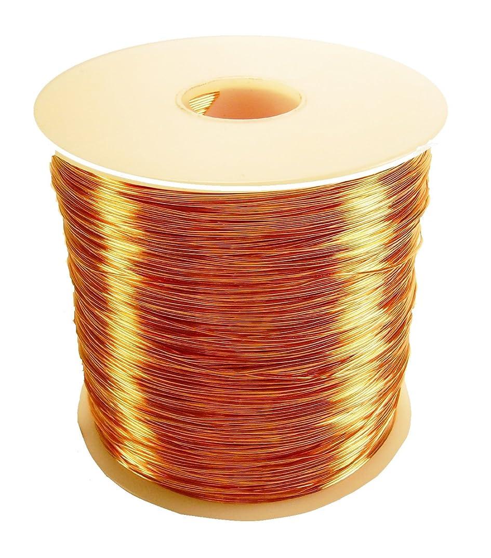 Copper Wire Half Hard 1 Lb Spool (16 Ga / 135 Ft.)