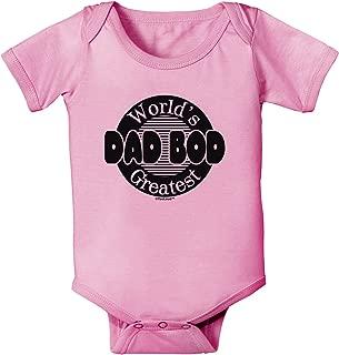 TOOLOUD Worlds Greatest Dad BOD Baby Romper Bodysuit