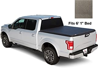 LEER Latitude Soft Tri-Fold Truck Bed Tonneau Cover, 2013+ Nissan Frontier Bed Size 6' 1