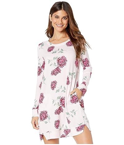Kate Spade New York Brushed Sweater Knit Sleepshirt (Blooming Mums) Women