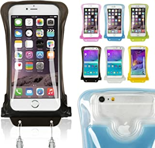 DiCAPac WP-C2s White Economy Series Waterproof Case for Smartphones up to 5.7-Inches [並行輸入品]