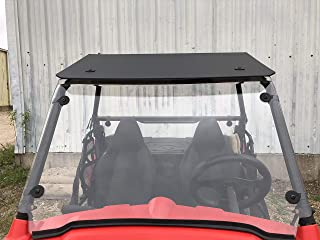 2009-2020 A&S AUDIO AND SHIELD DESIGNS POLARIS RZR 170 3/16 STANDARD POLYCARBONATE FULL AND REAR WINDSHIELD AND ROOF