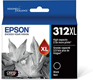 Epson T312XL120 Claria Photo HD Black High Capacity Cartridge Ink