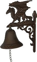 Design Toscano QH9029 Dragon of Murdock Manor Gothic Iron Bell, Verdigris