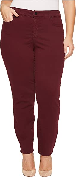 NYDJ Plus Size - Plus Size Alina Legging Jeans in Deep Currant