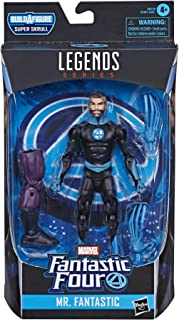 Hasbro Marvel Legends Series Fantastic Four 6-inch Collectible Action Figure Mr. Fantastic Toy, Premium Design and 2 Acces...