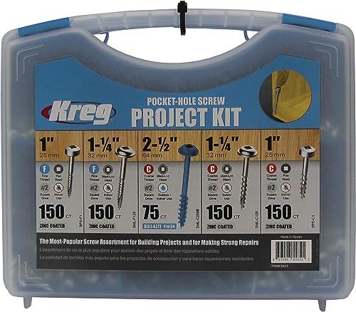 lowest Kreg wholesale SK03 wholesale Pocket-Hole Screw Kit in 5 Sizes online sale