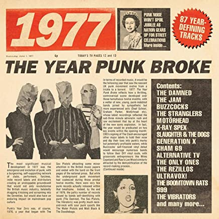 VARIOUS ARTISTS - 1977: The Year Punk Broke / Various (2019) LEAK ALBUM
