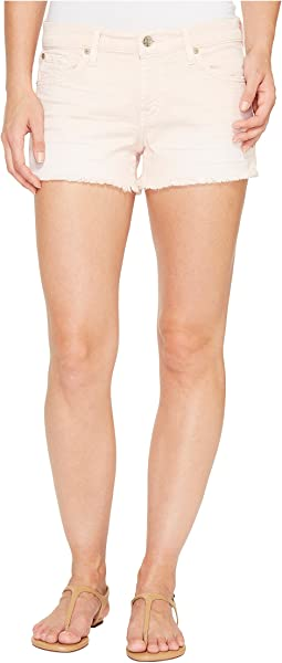Cut Off Shorts in Peony