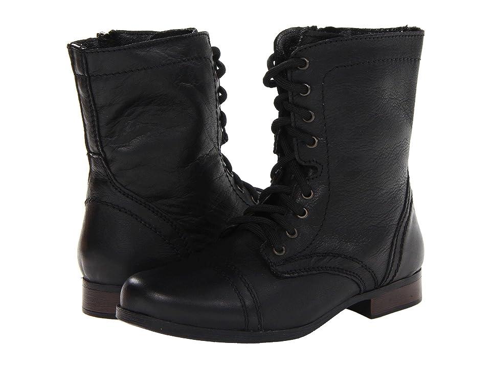 Steve Madden Kids Troopa (Toddler/Little Kid/Big Kid) (Black) Girls Shoes