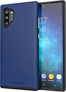 Note 10 Plus Case, Crave Dual Guard Protection Series Case for Samsung Galaxy Note 10+ - Navy