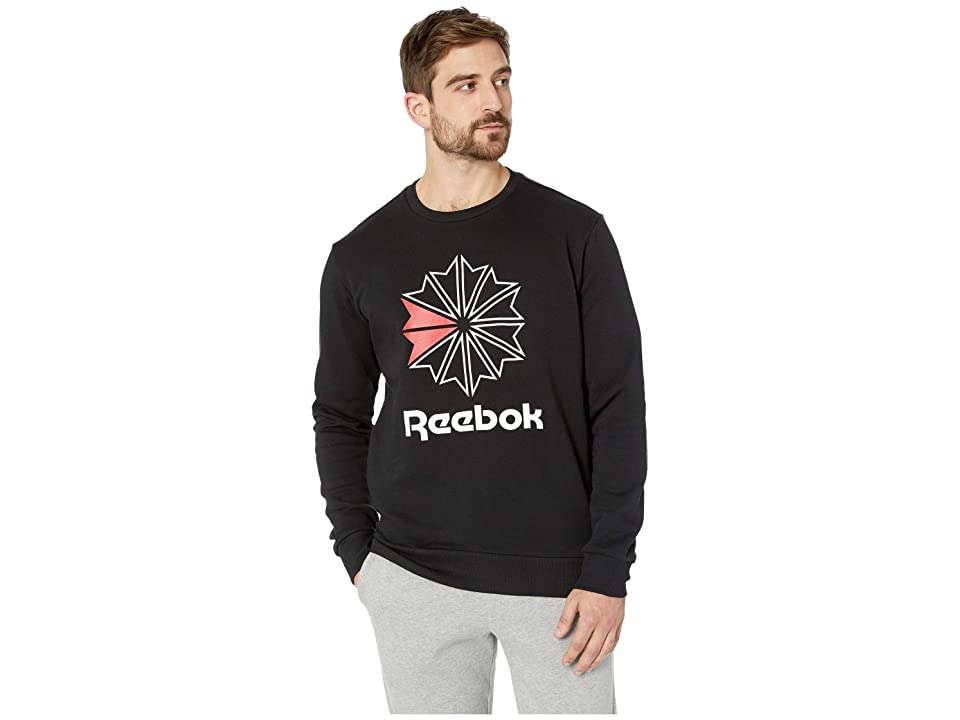 Reebok Activchill Ft Big Starcrest Crew (Black) Men
