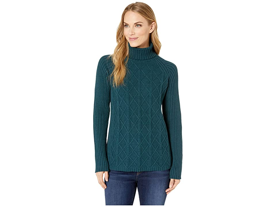 Royal Robbins Frost Turtleneck (Reflecting Pond) Women