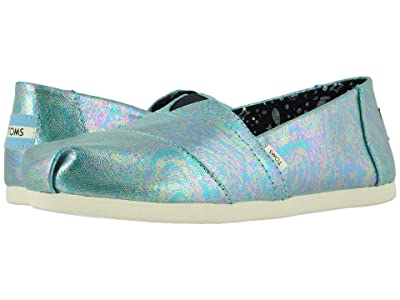 TOMS Alpargata 3.0 (Black Pearlized Canvas) Women