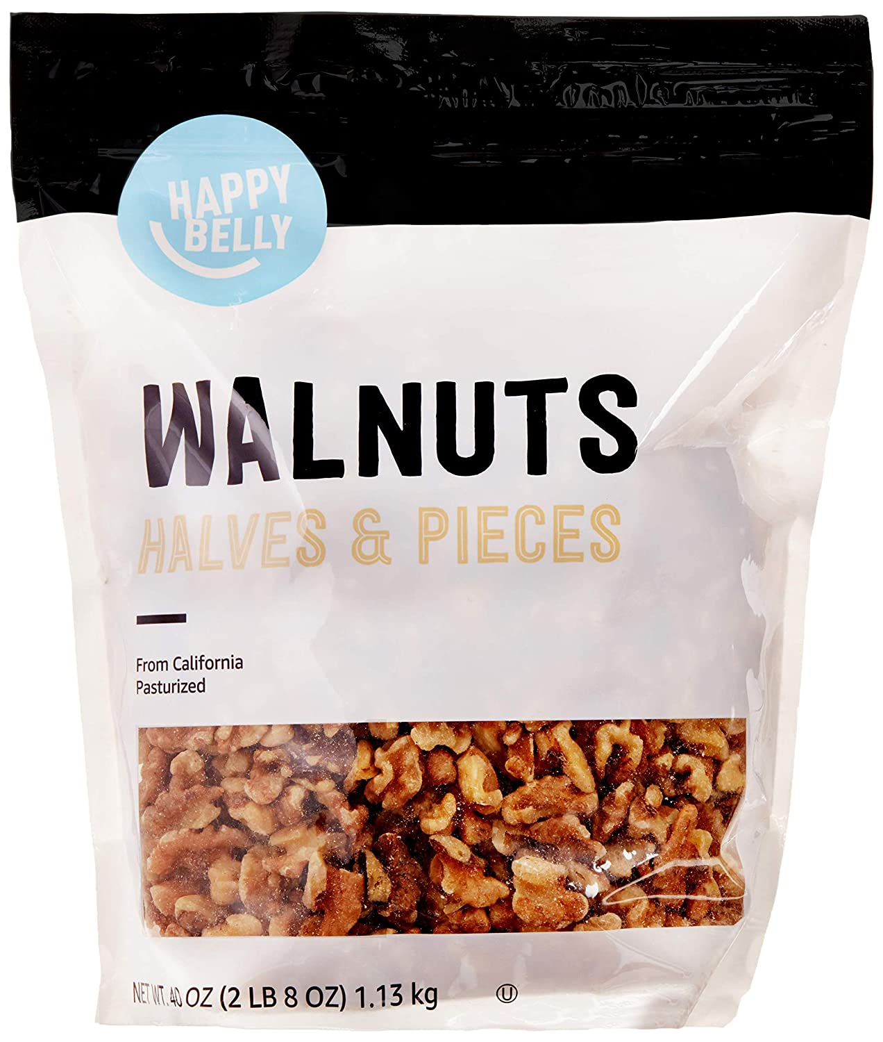 2021 autumn and winter new Amazon Brand - Happy Belly Popular standard and California Halves Walnuts Pieces