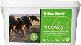 Hilton Herbs Freeway Herbal Supplement for Healthy Respiratory System for Horses, 1kg Tub