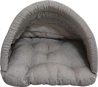 Mellifluous Medium Size Dog and Cat Pet Bed, Grey