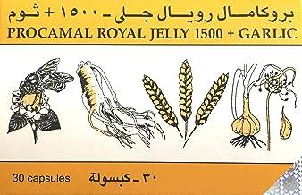 Procamal Royal Jelly 1500 Garlic 30 Capsules