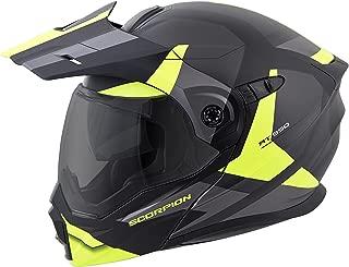 ScorpionEXO Unisex-Adult Modular/Flip Up Adventure Touring Motorcycle Helmet (Hi-Viz, XXX-Large) (EXO-AT950 Neocon)