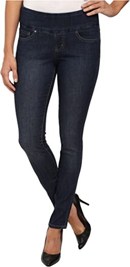 12ca781e87c Jag jeans petite petite peri pull on straight in blue shadow blue ...