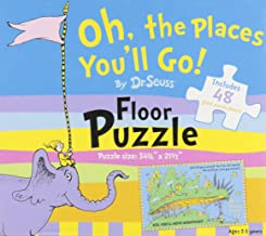 Oh, the Places You'll Go! Floor Puzzle