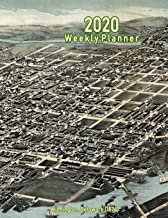 2020 Weekly Planner: Wilmington, Delaware (1874): Vintage Panoramic Map Cover