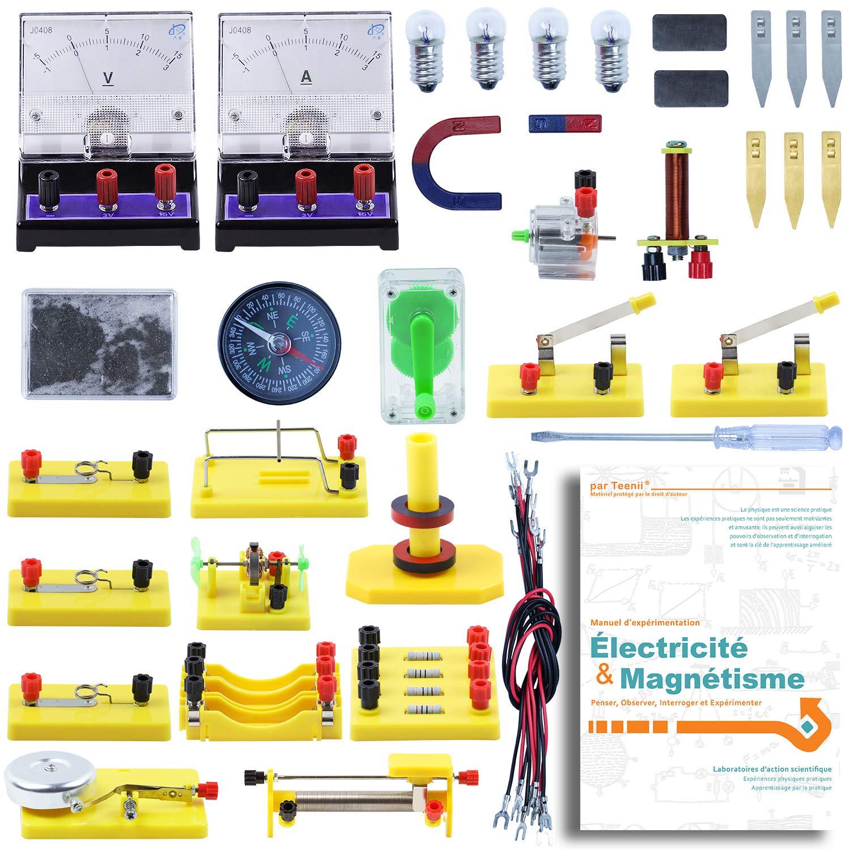 Teenii STEM Science Laboratoire de Physique Circuits de Base d'apprentissage kit de débutant